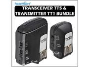 Pocket Wizard 801150 Flex Transceiver TT5 & 801140 Mini TT1 Transmitter Bundle for Canon DSLR