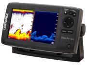 Lowrance Elite-7x HDI Fishfinder w/ 83/200 455/800 Elite-7x HDI Fisfinder with 83-200 KHz