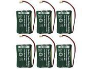 Replacement Battery for AT&T (6-Pack) Replacement Battery for AT&T Phones