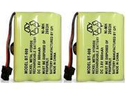 Battery for Panasonic P102 (2-Pack) Replacement Battery