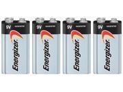 Energizer MAX Alkaline 9V (4-Pack) Alkaline Battery