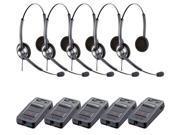 Jabra BIZ 1900 Duo Headset W/ Link 850 (5-Pack)