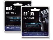 Braun  7000FC/30B (2-Pack) Replacement Foil and Cutter 2-Pack