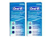 Oral-B SuperFloss-2 Oral-B Super Floss Pre-Cut Strands