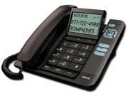 RCA 1113-1BKGA Corded Desktop Phone