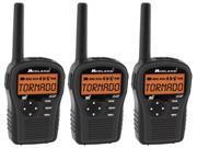Midland HH54VP (3 Pack) Portable Emergency Weather Radio