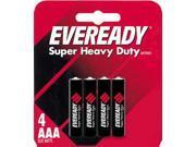 Eveready ENE1212SW4B Eveready Heavy Duty 1212BP-4 AAA Batteries