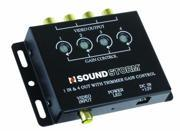 Sound Storm SSLSVA4B SSL SVA4 Video Signal Amplifier, Single Source In, Four Outputs