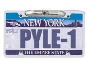 PYLE AUDIO PYLPLCM21M PYLE PLCM21 License Plate Camera Zinc Metal Chrome with 0.3 Lux at F2-Inch