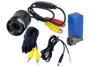 Pyle Audio PYLPLCM39FRVB Pyle PLCM39FRV Universal Mount Rear and Front View Camera