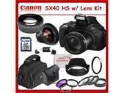 Canon SX40 HS 12.1MP Digital Camera with SSE Lens Package - Great Bundle