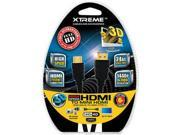 xtreme Mini HDMI to HDMI Cable - 6 ft. Optimal For Most SLR Digital Cameras