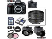 Nikon D600 24.3MP FX-Format DSLR Camera (Body Only) With Nikon AF-S Nikkor 50mm f/1.8D Lens & Essential Accessory Package including 32GB SDHC Card & More