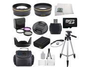 Ultimate Lens & Accessory Kit for Samsung NX200, NX210, NX300, NX100, NX1100 ...