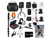20-Piece Set: Accessories Collection for GoPro Hero3 or Hero3+Hero 4+ Hero