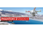 DJI Phantom 2 Vision+ v3.0 with Gimbal-Stabilized 14MP Camera (Late 2014)