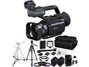 Sony PXW-X70 Professional XDCAM Compact Camcorder + 3PC Multi-Coated Filter Kit (UV+CPL+FLD) + 2 Replacement NP-FV100 Battery + Rapid Travel Charger with EU Adapter & Car Adapter + More!