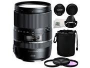 Tamron 16-300mm f/3.5-6.3 Di II VC PZD MACRO Lens for Canon + 5 Piece Essentials Accessory Kit