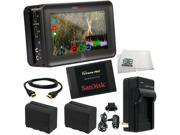 "Atomos Ninja Blade 5"" HDMI On-Camera Monitor & Recorder + SanDisk 240GB Extreme Pro SSD + 2 Spare Replacement NP-F970 Batteries + MORE"