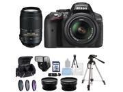 Nikon D5300 Digital SLR Camera With 18-55mm Lens & 55-300mm VR Lens Kit