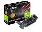 ASUS 2GB GeForce GT 610 DDR3 64-Bit PCI Express 2.0 x16 HDCP Ready Video Card Model GT610-2GD3-CSM