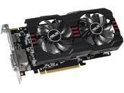 ASUS 2GB Radeon R7 265 GDDR5 256-Bit PCI Express 3.0 HDCP Ready CrossFireX Support Video Card Model R7265-DC2-2GD5