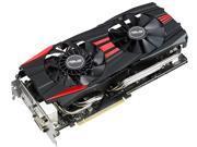 ASUS 4GB Radeon R9 290X GDDR5 512-Bit PCI Express 3.0 HDCP Ready CrossFireX Support Video Card Model R9290X-DC2OC-4GD5