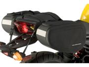 Nelson-Rigg Motorcycle Sport Saddlebags (SPRT-40) Uni Black Size Uni