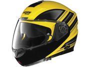 Nolan N104 Voyage Yellow/Black Modular Motorcycle Helmet Size 2Xsmall