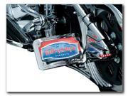 Kuryakyn Curved Horizontal Side Mount License Plate Holder 9253