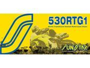 Sunstar 530 RTG1 Works Tripleguard Sealed Motorcycle Chain - 116 Links