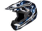 HJC Helmets Cl-X6 Hydron /White /Blue Helmet Blue Black Size X-Small