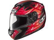 HJC CS-R2 Storm Motorcycle Full Face Helmet Red Size Small