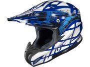 HJC RPHA-X Tempest Off Road Motocross Helmet Blue Size X-Large
