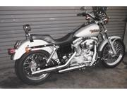Cycle Shack 2 1/2in. Slip-On Mufflers - Tapered - Chrome MT-129 For Harley