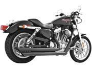 Freedom Performance Patriot LG Exhaust System - Slash - Black HD00119 For Harley