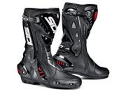 Sidi ST Black Racing Motorcycle Boots Size EUR 42 US 8.5