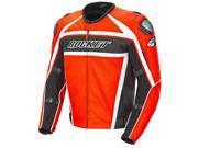 Joe Rocket Motorcycle Speedmaster Jacket Mens High Risk Red Size 46
