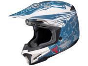 HJC Helmets Motorcycle CL-X7 El Lobo UNI Flat Blue Size XX-Large