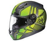 HJC Helmets Motorcycle CL-17 Redline UNI Hi-Viz Yellow Size Large