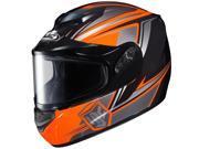 HJC Helmets Motorcycle CS-R2 Seca Framed Dual Lens UNI Flat Orange Size XX-Large