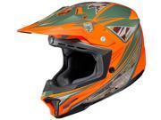 HJC Helmets Motorcycle CL-X7 Dynasty UNI Flat Orange Size XX-Large
