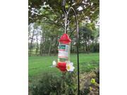 NEW! GLASS CRYSTAL LANTERN 8oz HUMMINGBIRD FEEDER!