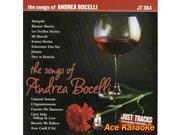 Pocket Songs Just Tracks Karaoke CDG JT364 - The Songs Of Andrea Bocelli