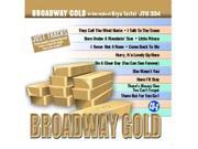 Pocket Songs Just Tracks Karaoke CDG JTG334 - Broadway Gold