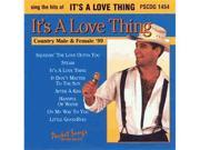 Pocket Songs Karaoke CDG #1454 - It's A Love Thing - Country Male & Female '99