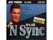 Pocket Songs Just Tracks Karaoke CDG JTG197 - IT'S ALL 'N SYNC