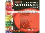 Sound Choice Spotlight CDG SCG8922 - Southern Fried Rock Vol.4