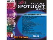 Sound Choice Spotlight CDG SCG8930 - Childhood Favorites