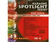 Sound Choice Spotlight CDG SCG9005 - Pop Hits - Vol.195